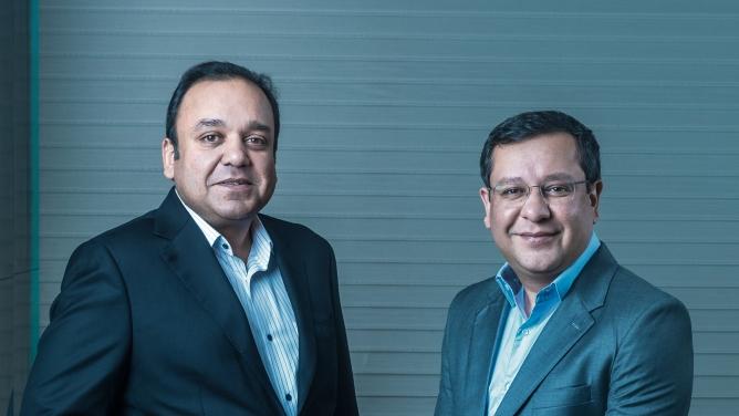 From Left: Punit Goenka and Amit Goenka.