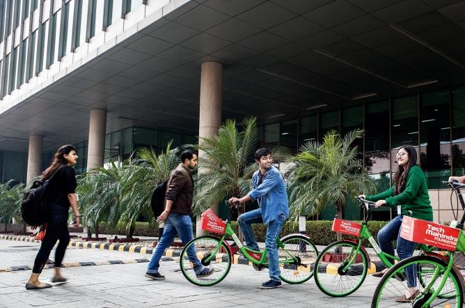 Tech Mahindra office in Noida