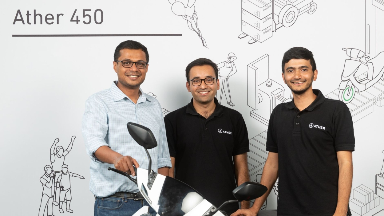 Sachin Bansal invests $32 million in Ather Energy