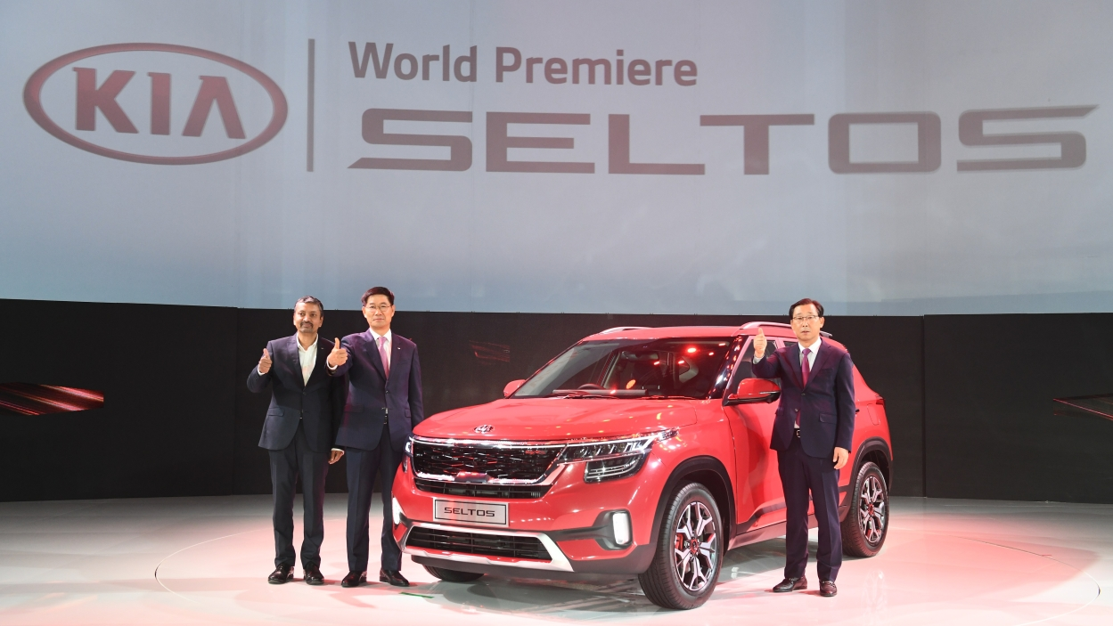 Kia Seltos premieres in India
