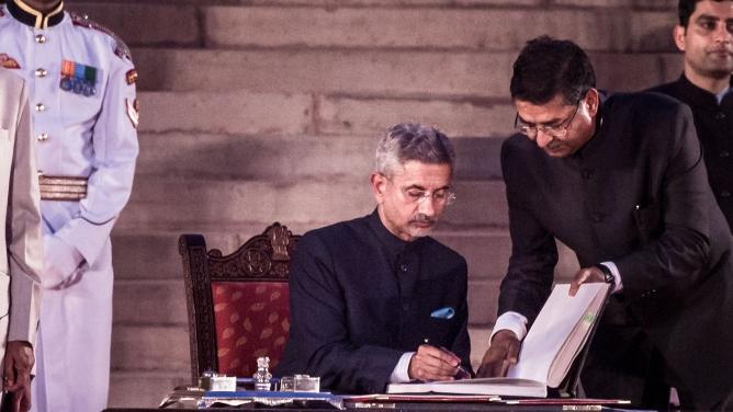 Foreign minister Subrahmanyam Jaishankar
