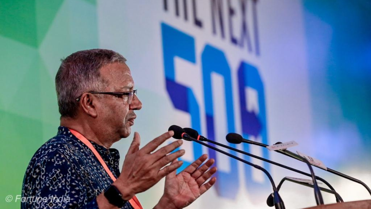 The economic well-being of the country has dramatically changed: Samit Ghosh