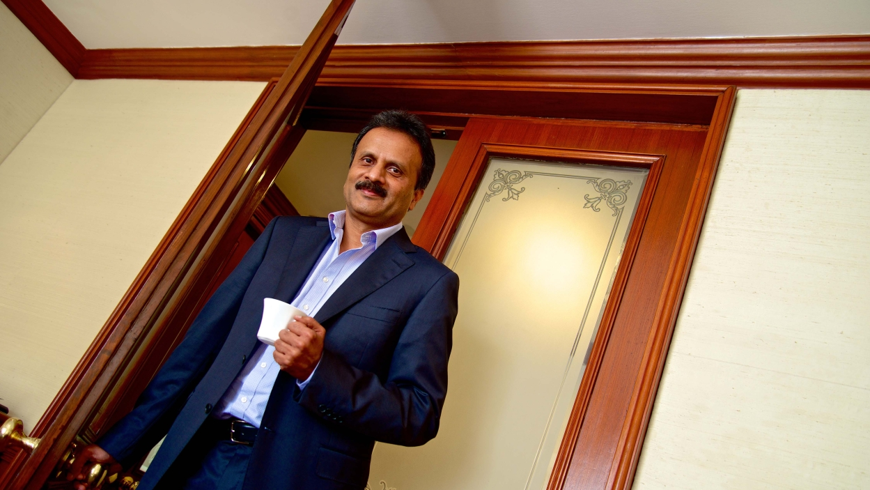 V.G. Siddhartha: The lord and master of coffee beans