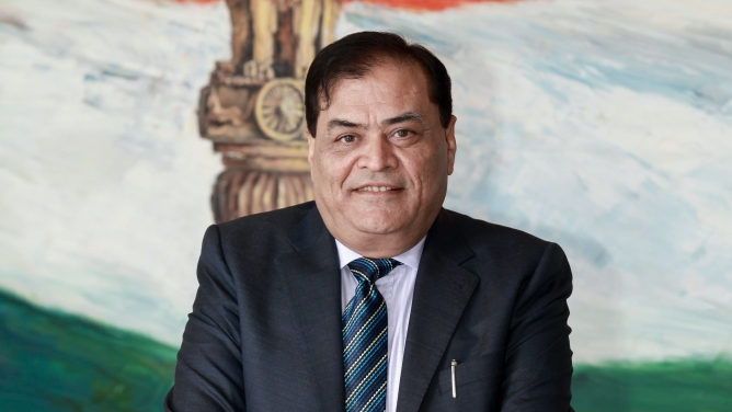 Mahendra Singhi, managing director and CEO of Dalmia Cement (Bharat) Limited.