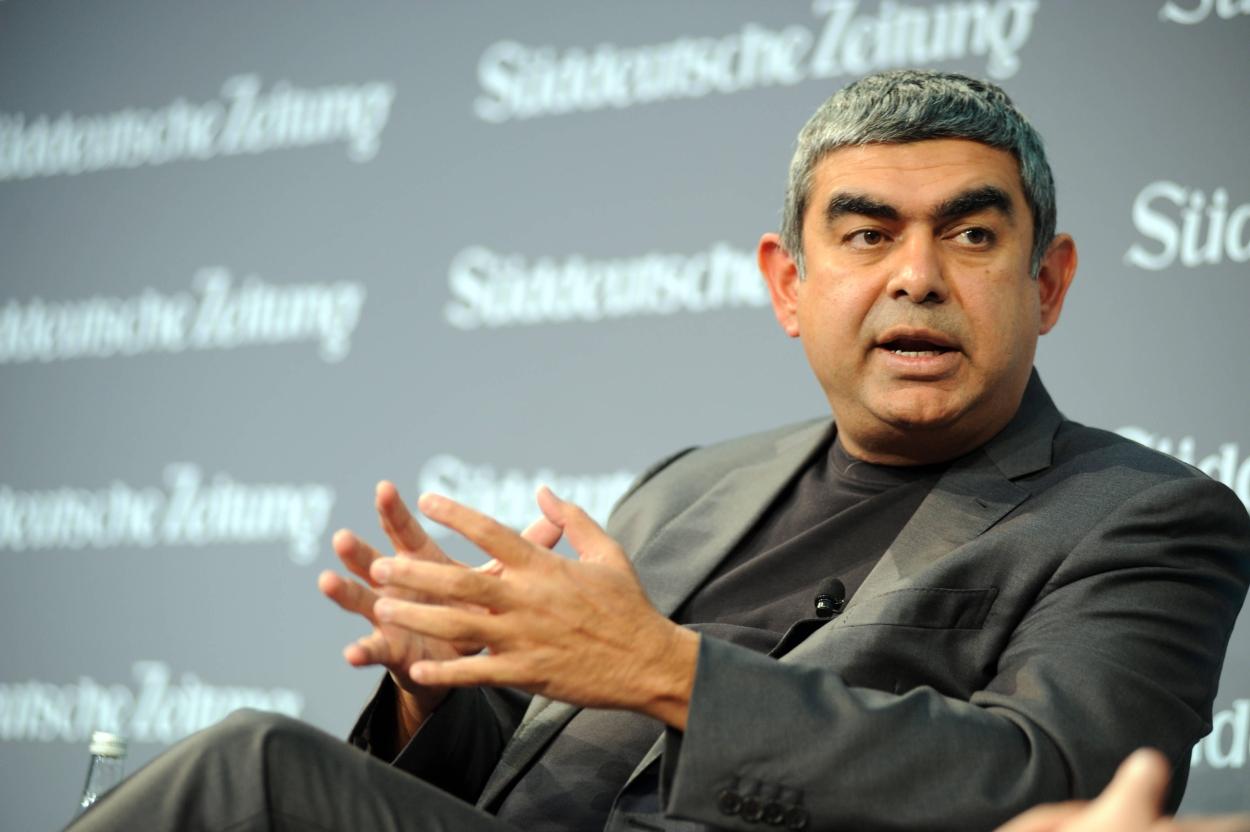 Vishal Sikka's AI startup gets $50-mn funding