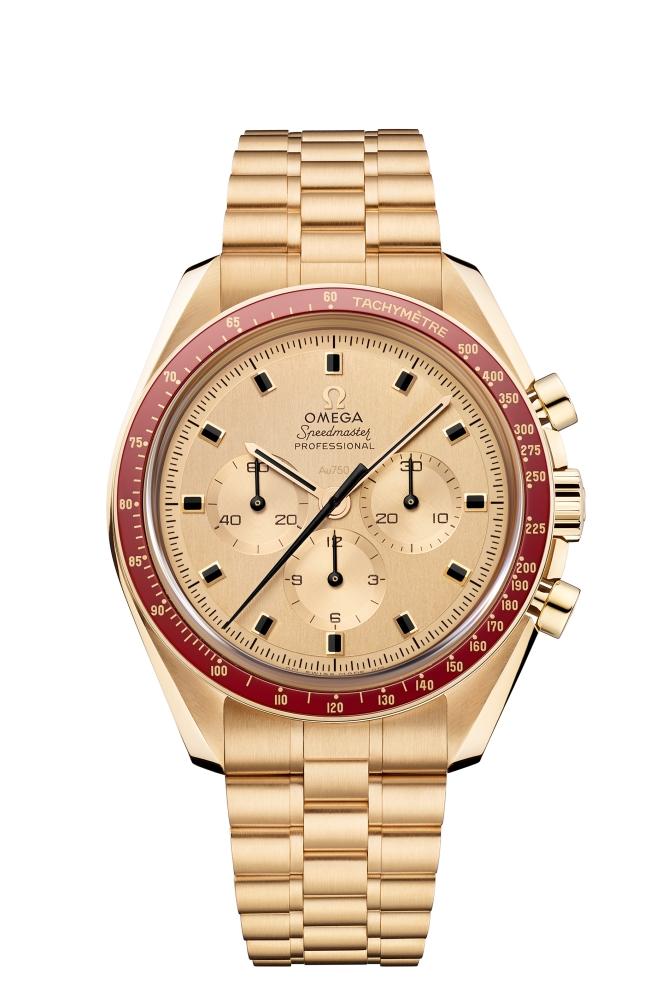 Omega Speedmaster Apollo 11 50th AnniversaryMoonshine Gold Limited Edition