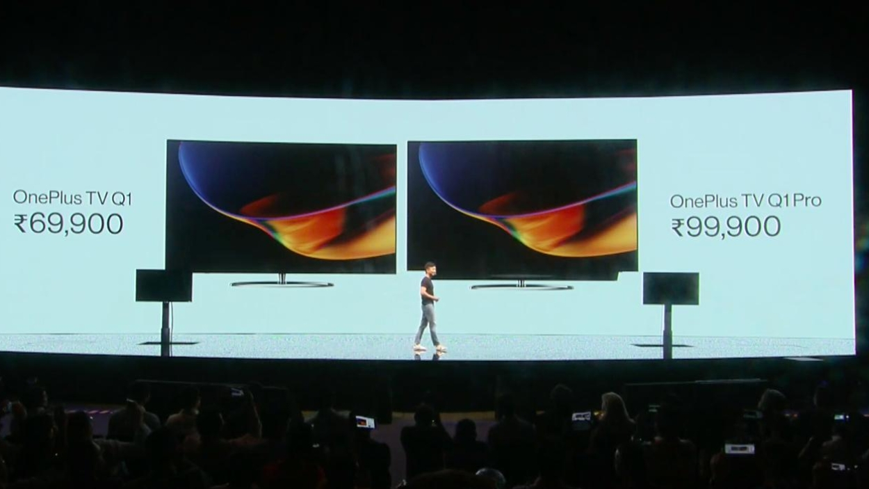 OnePlus launches 7T and smart TVs