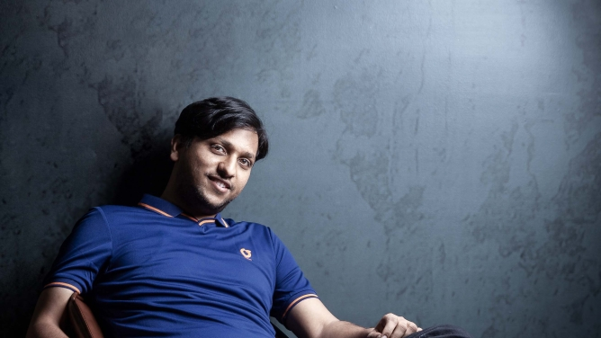 Akash Gupta, the co-founder and CTO of GreyOrange.<em></em>