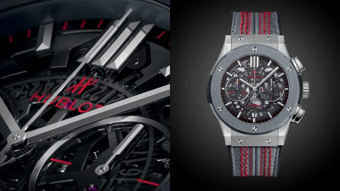 The official ICC Cricket World Cup 2019 watch by Hublot