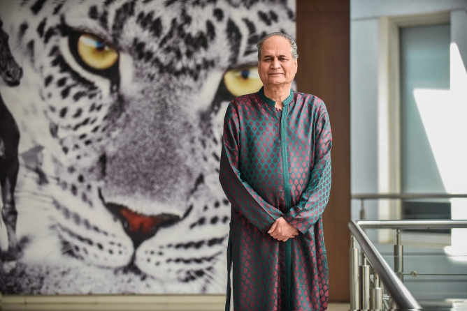 Rahul Bajaj, chairman of Bajaj Auto Ltd