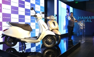 Bajaj Chetak returns in  all-electric avatar