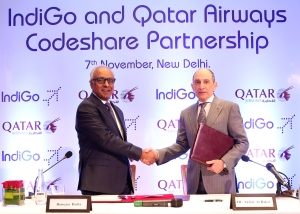 Qatar Airways, IndiGo seal tie-up