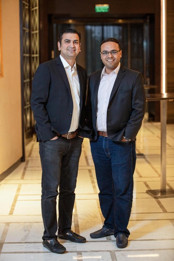 From Left: Ravi Saraogi, <em>and Umesh</em> Sachdev, Co-founders of <em>Uniphore</em>