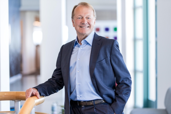 <em>John Chambers, </em>former executive chairman and CEO of Cisco Systems.