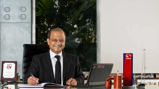 Vinod Aggarwal, MD and CEO, VECV