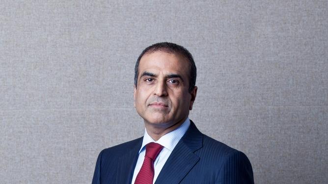 <em>Sunil Bharti Mittal,</em> founder and chairman of <em>Bharti</em> Enterprises.