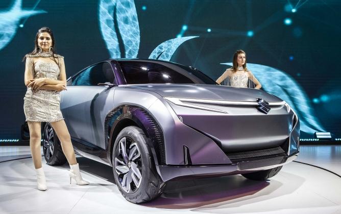Maruti Suzuki India's Futuro E concept car.