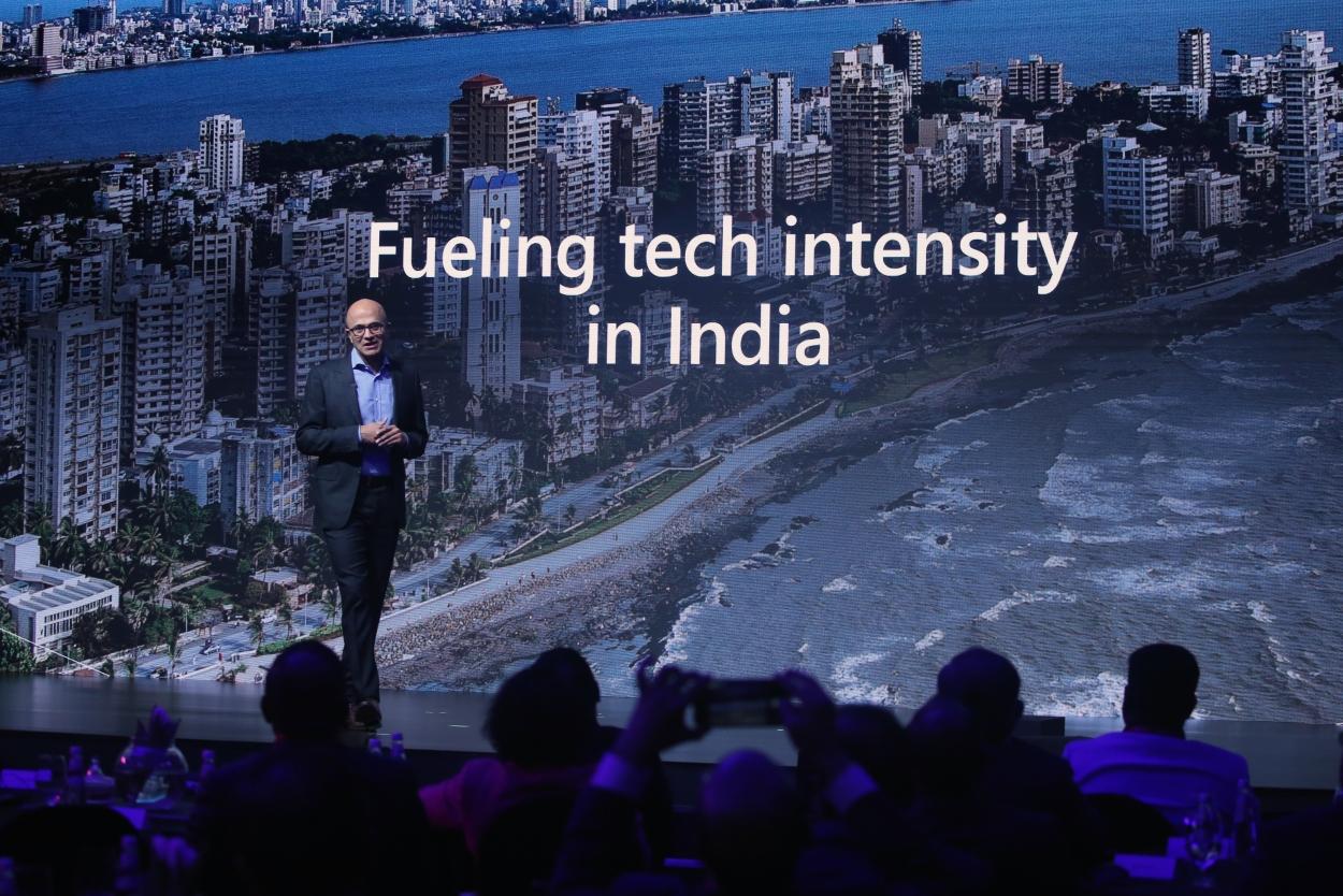 Tech needs to have a broader impact: Satya Nadella