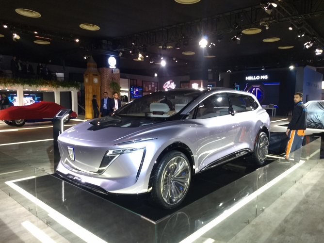 MG Motor's Vision-I Concept