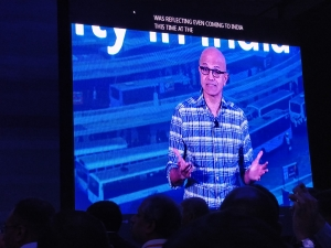 Nadella focusses on the role of developers at Microsoft summit