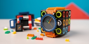 Kinstrukto's watches: Tick-tock bricks