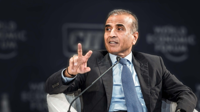 Sunil Bharti Mittal, founder and chairman of Bharti Enterprises.