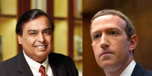 FACEBOOK AND JIO INK $5.7-BN DEAL
