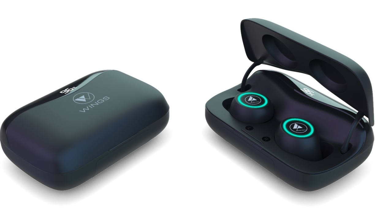 Wings Powerpods: Cool earbuds, nifty display
