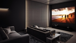 At home with home theatres