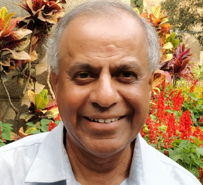 C.S. Murali, chairman of the Entrepreneurship Cell at SID