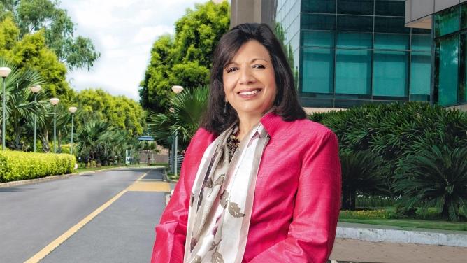Kiran Mazumdar-Shaw, Executive Chairperson, Biocon Ltd.