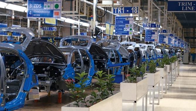 Tata Motors Plant.