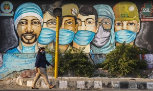 Delhi's graffiti and its tryst with the Coronavirus