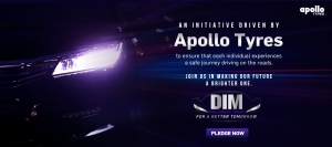 #DimTheLights! Because blinding high beam lights at night can be fatal