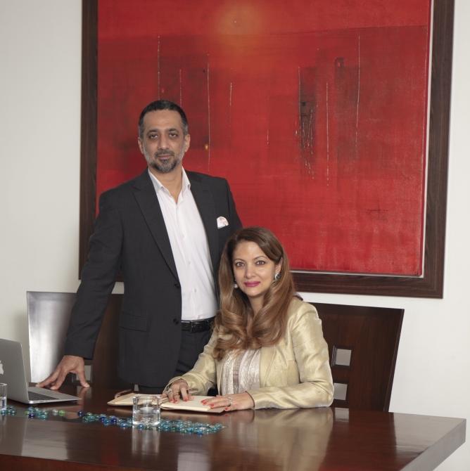 Himmat Singh and Rohini Chaudhri Singh.