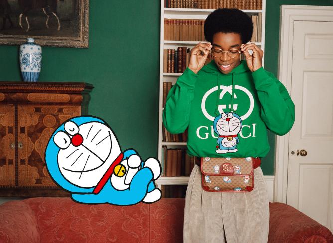 Gucci's Doraemon collection.
