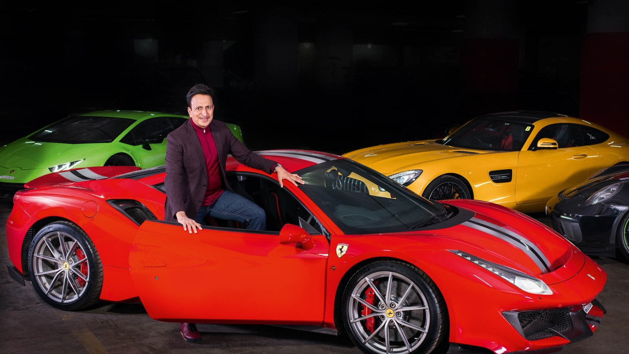 How Dinesh Thakkar built his sports car collection