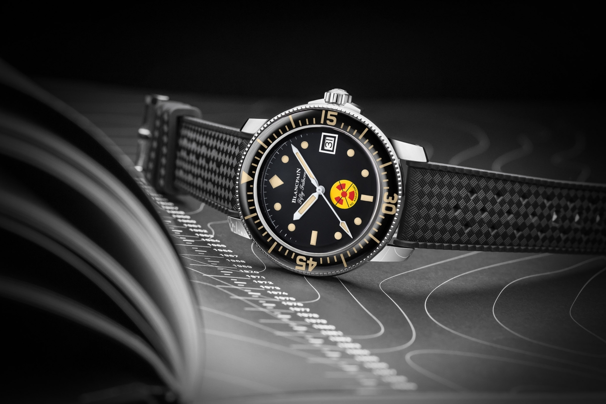 Blancpain's latest watch doffs hat to diving heritage