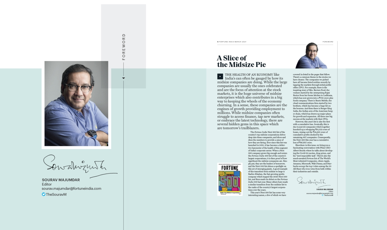 The Fortune India Next 500: A slice of the midsize pie