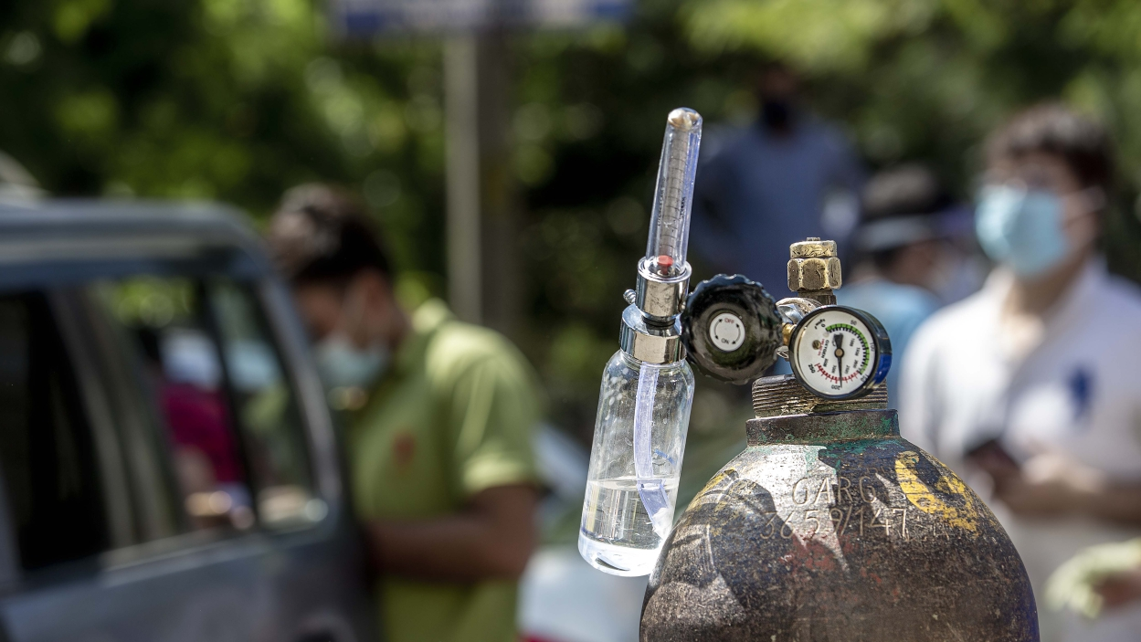 In photos: India's big oxygen crisis