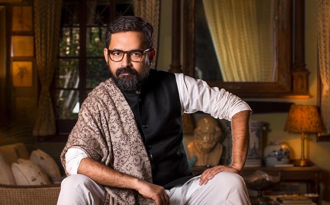Sabyasachi Mukherjee, fashion designer.