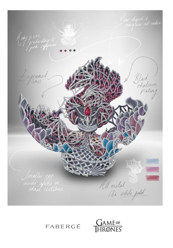 Fabergé dragon egg