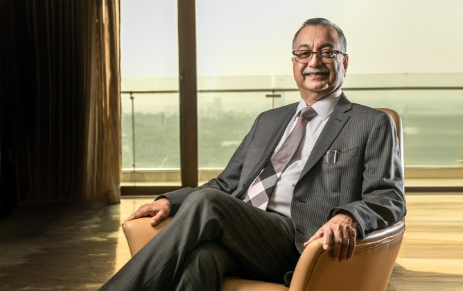 H. Sudarshan Ballal, chairman, MHEPL