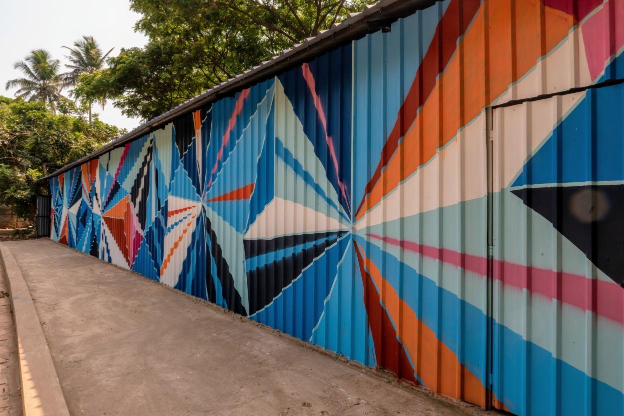 Bombay Sapphire's creative collage
