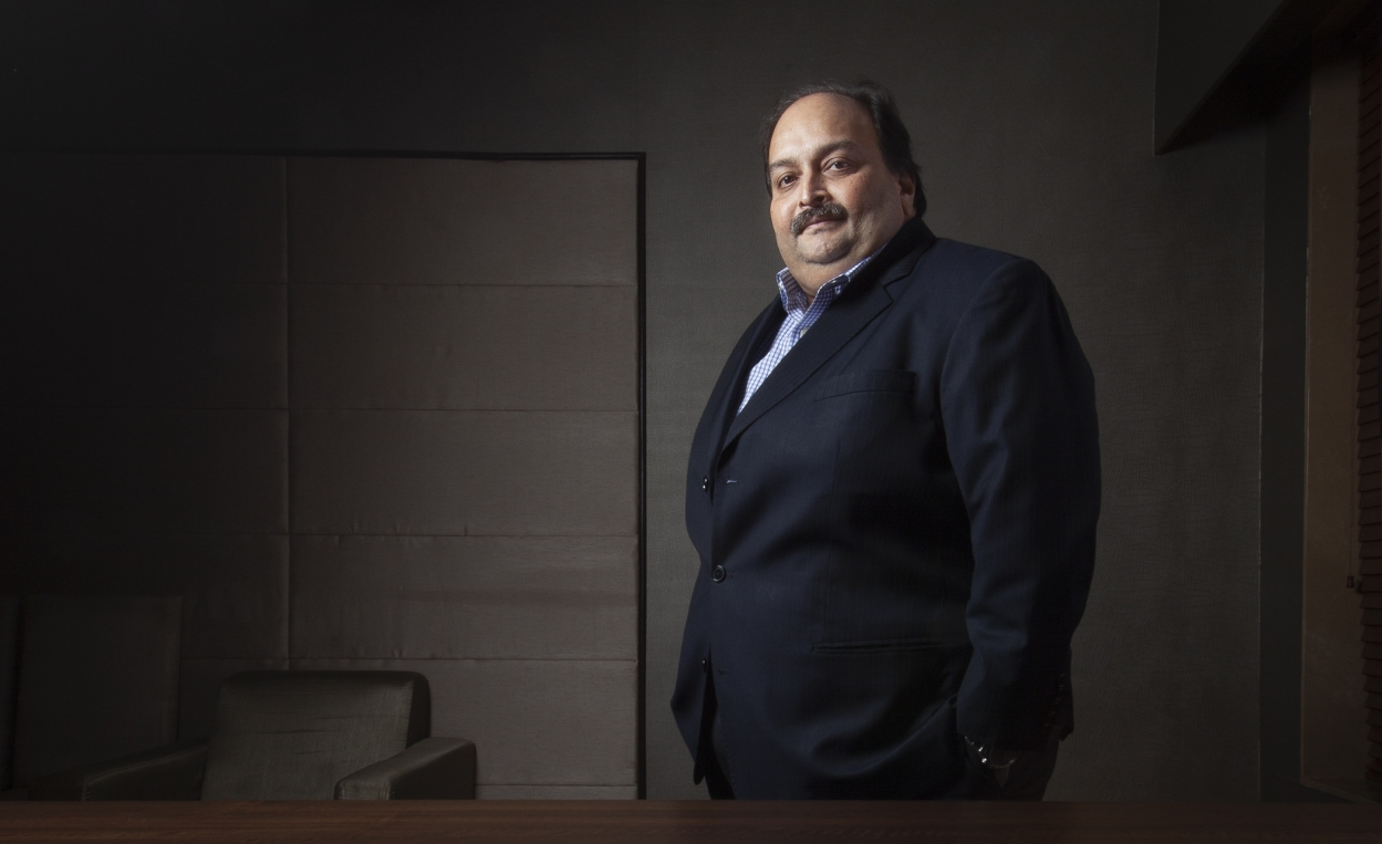 Mehul Choksi plays catch me if you can