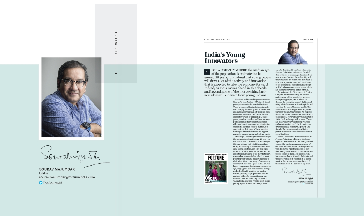 40 under 40: India's young innovators