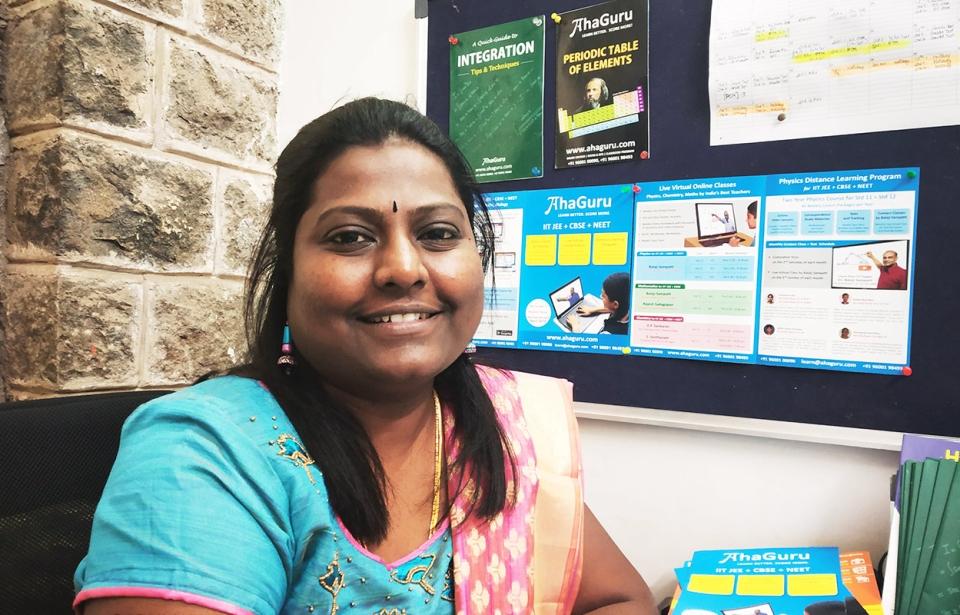 Knowledge Must Be Accessible To Everybody: Gomathi Shanmugam, Co-Founder, AhaGuru