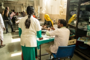 What is widening India's 'healthcare gap'?