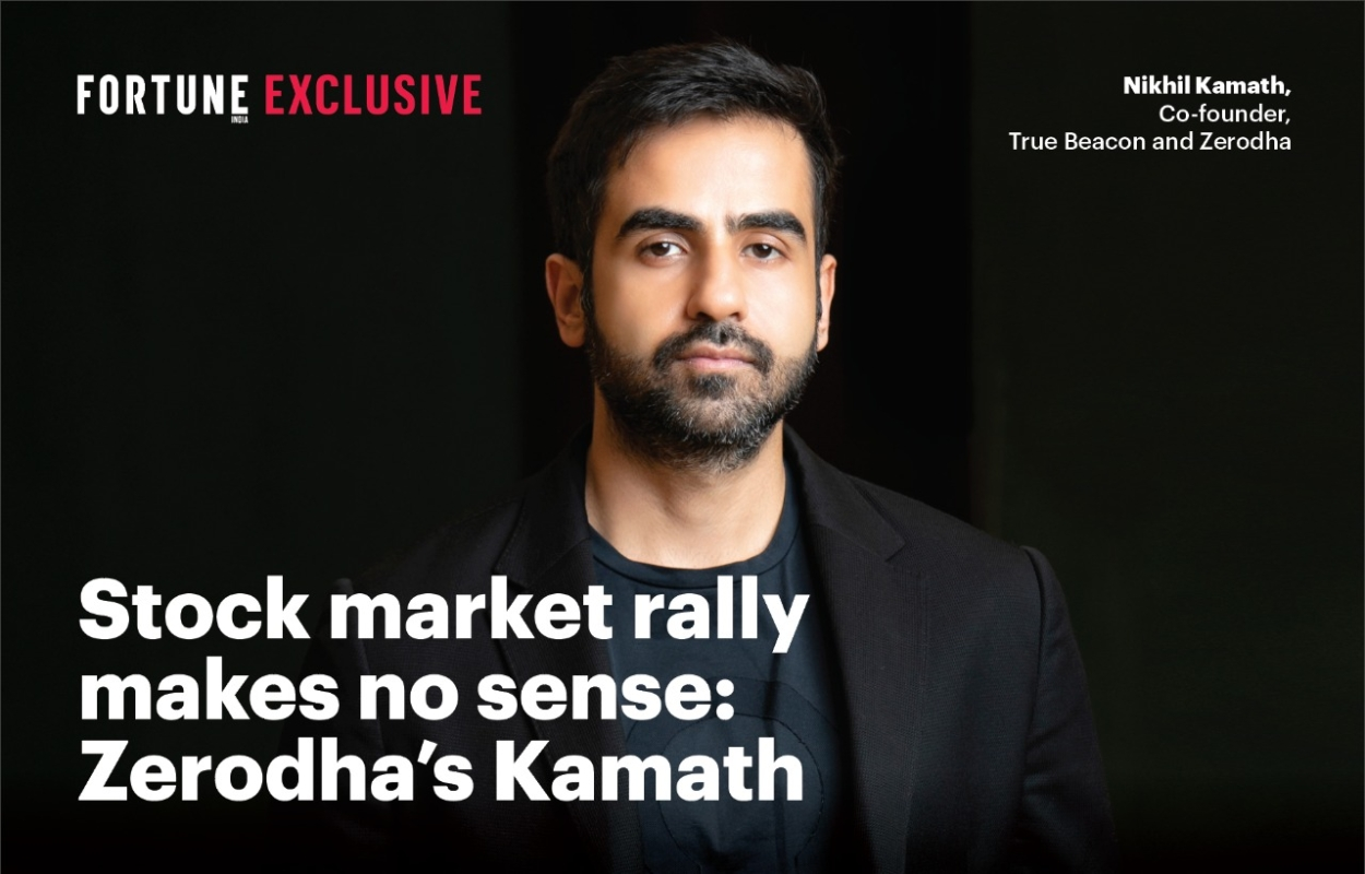 Stock market rally makes no sense: Zerodha's Kamath