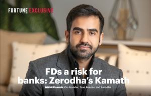 FDs a risk for banks: Zerodha's Kamath